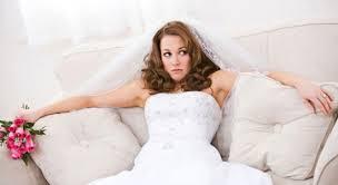 متخوفة من ليلة الزفاف