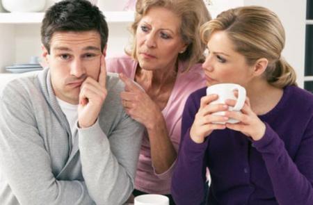 تدخل الأهل في الحياة الزوجية