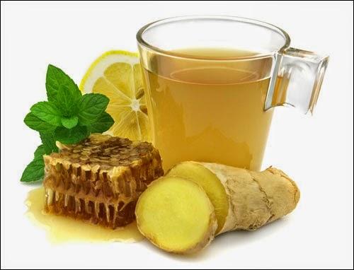 العسل-الزنجبيل